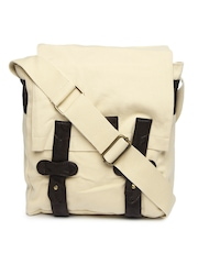 Pepe Jeans Men Beige Messenger Bag
