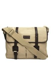 Pepe Jeans Men Light Brown Messenger Bag