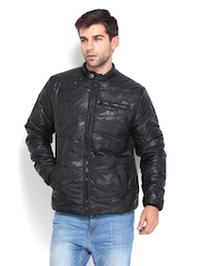 Pepe Jeans Men Black Padded Jacket