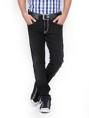 Pepe Jeans Men Black Vapour Skinny Fit Jeans