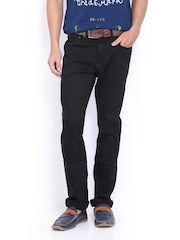 Pepe Jeans Men Black Vapour Skinny Fit Jeans