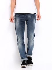Men Blue Holborne Regular Fit Jeans Pepe Jeans