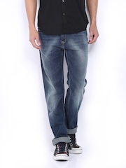 Men Blue Slim Fit Jeans Pepe Jeans