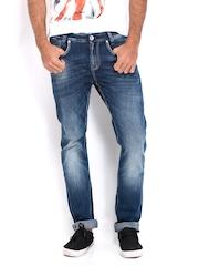 Men Blue Soho Super Slim Fit Jeans Pepe Jeans