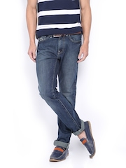 Men Blue Vapour Skinny Fit Jeans Pepe Jeans 372038