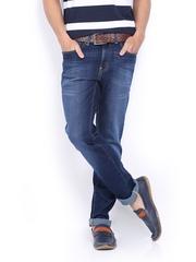 Men Blue Vapour Skinny Fit Jeans Pepe Jeans