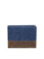Pepe Jeans Men Blue Wallet