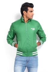 Pepe Jeans Men Green Windsheeter Jacket