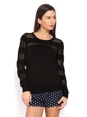Pepe Jeans Women Black Sweater