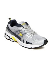 Performax Men Silver Toned Sports Shoes