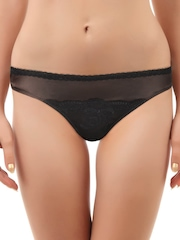 Peri Peri Women Black & Brown Passion Fruit Bikini Briefs