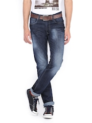 Peter England Men Blue Slim Fit Jeans