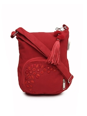 Pick Pocket Red Sling Bag