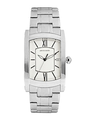 Pierre Cardin Men White Dial Watch