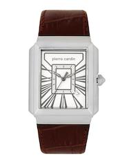Pierre Cardin Men White Dial Watch