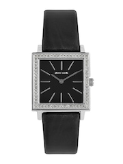 Pierre Cardin Women Black Dial Watch