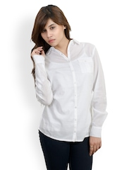 Pique Republic Women White Shirt