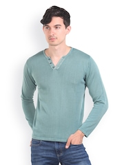 Platinum League Men Steel Blue Sweater