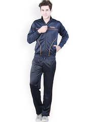 Platinum League Men Navy Tracksuit