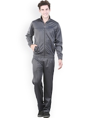Platinum League Men Grey Tracksuit