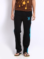 Playboy Men Black Lounge Pants LWPO