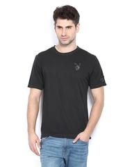 Playboy Men Black T-shirt