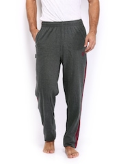 Playboy Men Charcoal Grey Lounge Pants LWPO