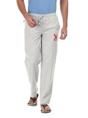 Playboy Men Grey Melange Lounge Pants