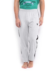 Playboy Men Grey Melange Lounge Pants LWPO