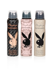 Playboy Women Pack of 3 Deos