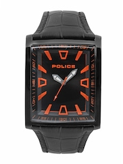 Police Men Black Dial Watch