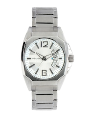 Police Men White Dial Watch