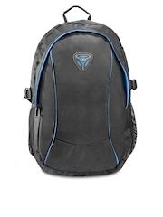 President Unisex Black & Blue Laptop Bag