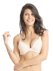 PrettySecrets Comfy Fit Collection Nude-Coloured Bra