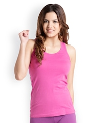Pretty Secrets Women Pink Tank Top