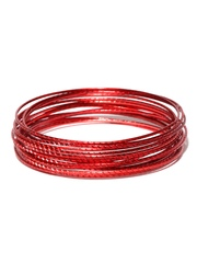 Pretty Women Set of 16 Red Bangles