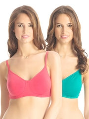 PrettySecrets Snug Sexy Collection Pack of 2 Full Coverage Bras PSBRWL2-2014AW002