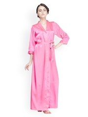 Private Lives Women Pink Bathrobe OL1099