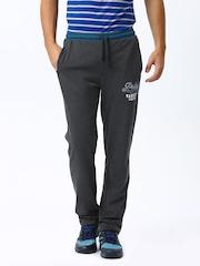 Proline Men Charcoal Grey Track Pants