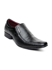 Provogue Men Black Semiformal Shoes
