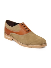Provogue Men Khaki Suede Casual Shoes