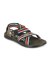 Provogue Men Multi-Coloured Sandals