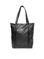 Puma Black Fitness Lux Shopper Handbag