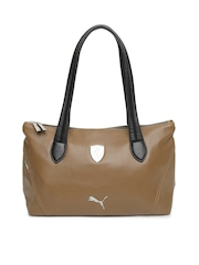 Puma Brown Ferrari LS Handbag