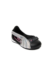 Puma Girls Black Espera III Iris Casual Shoes