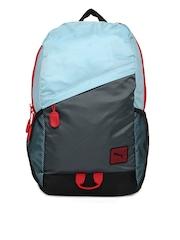 Puma Kids Blue & Grey Special Backpack