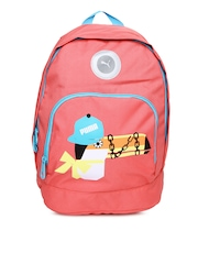 Puma Girls Pink Primary Backpack