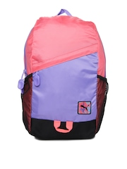 Puma Girls Purple & Pink Special Backpack