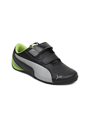 Puma Kids Black Drift Cat 5 Sports Shoes