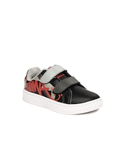 Puma Kids Black James Cat II DP Casual Shoes